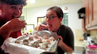 MAKING the BEST DESSERT ever with MOM!! (TUTORIAL)(RECIPE INCLUDED)