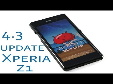Xperia Z1 Official Android 4.3 Jellybean - What's New and Improved ?