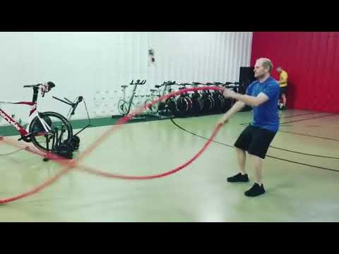 New U Fitness Rope Work