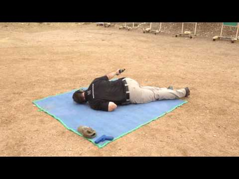 Hex Tactical Advance Handgun Course Shooting From Prone