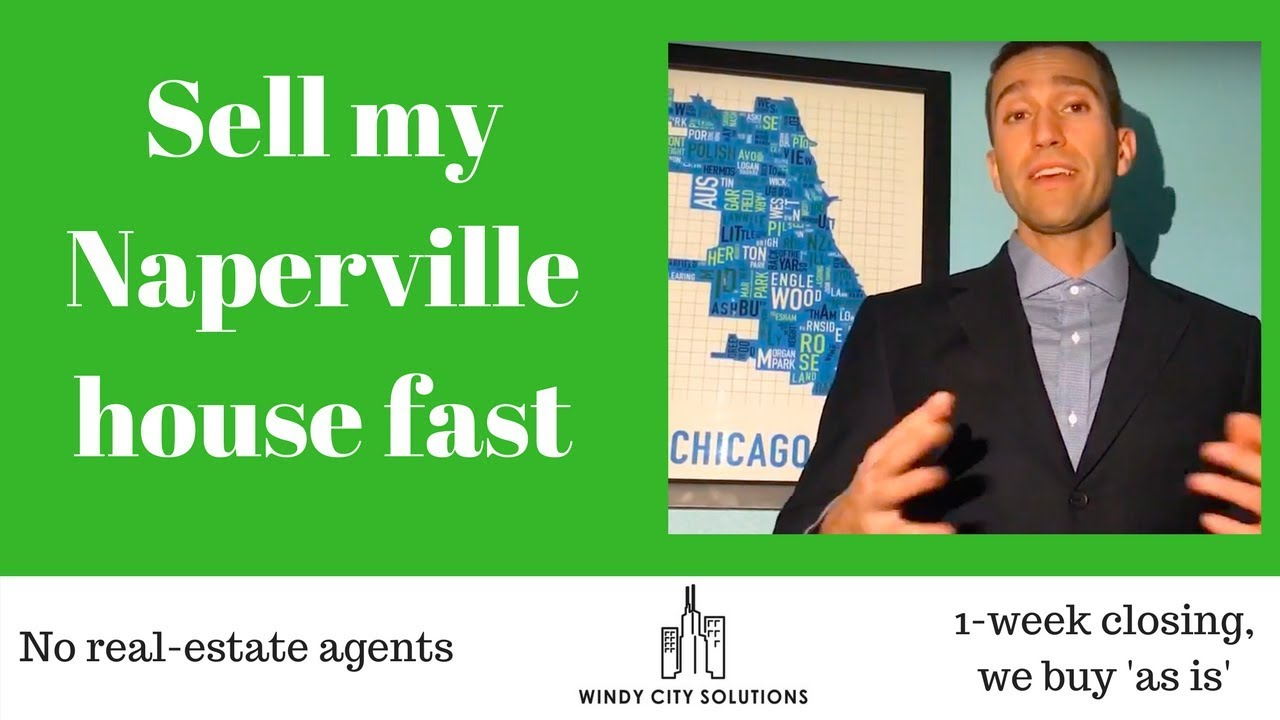Sell my house fast Naperville