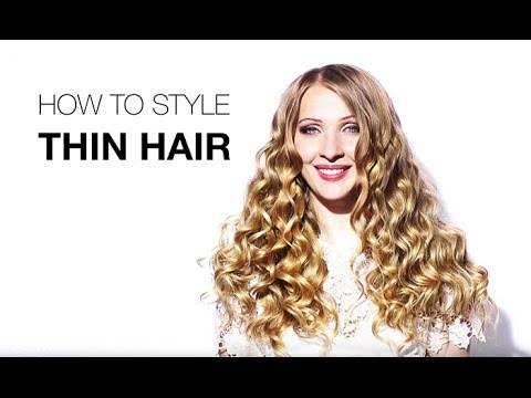 How To Style Thin Hair Captivating Hair Extensions For Thin Hair  How To Style Thin Hair  Hair .