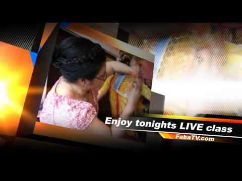 Andrea ODonnell - Stencil Secrets On FABAtv LIVE