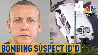 Political Mail Bomb Suspect Identified as Cesar Sayoc Jr.