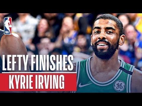 Kyrie Irving's Best Left Hand Finishes!