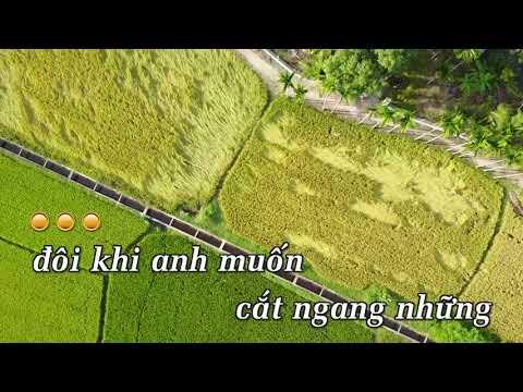 KARAOKE NHẠC TRẺ 2018 | Yêu Sau Lưng Em - Vương Anh Tú | Beat Chuẩn