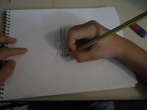 Como Desenhar Um Violão - Desenhos Artísticos
