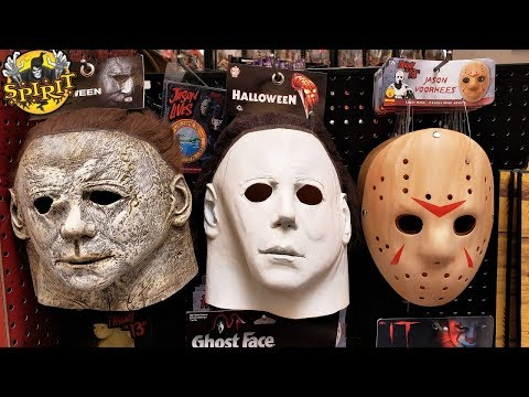 SPIRIT HALLOWEEN STORE WALKTHROUGH NEW PROPS LOOK INSIDE 2019