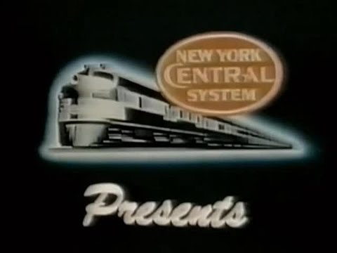 Within The Oval, New York Central System - 1950's Trains - CharlieDeanArchives / Archival Footage
