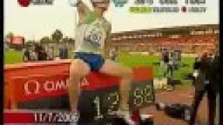 110m hurdles world record 12 87sec dayron robles