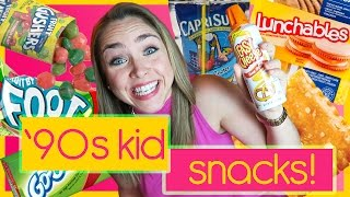 Trying Throwback '90s Kid Snacks