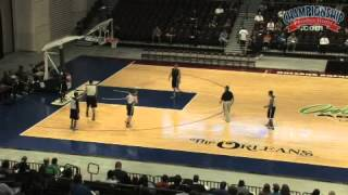 Keith Dambrot: Full Court 1-2-1-1 Pressure Defense & Breakdown Drills