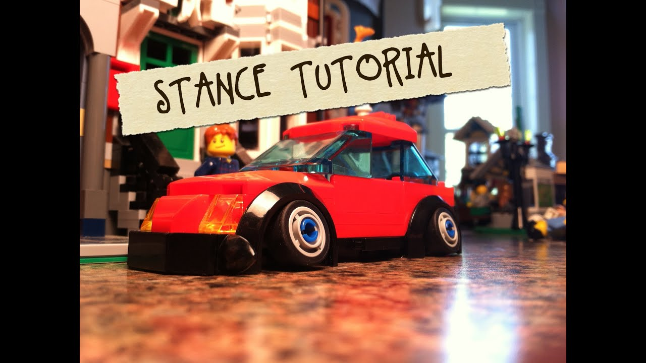Stance A Lego Car Model Monday 9 22 14 Youtube