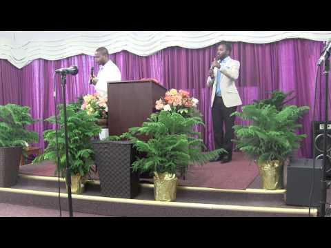 Mountain of Transfiguration   Past  Faustin Kibukila & Tony Nkunzi to interprete