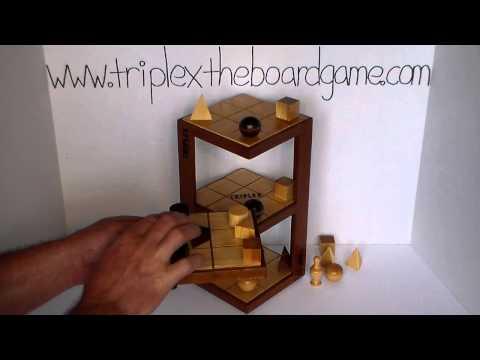 TRIPLEX the 3D Strategy Board Game - Match 6 - Game 2