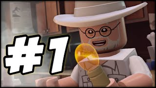 LEGO Jurassic World - PART 1 - PROLOGUE! (Gameplay Walkthrough HD)