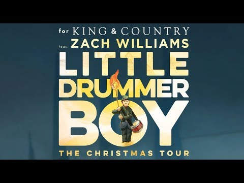 for KING & COUNTRY's Little Drummer Boy | The Christmas Tour feat. Zach Williams