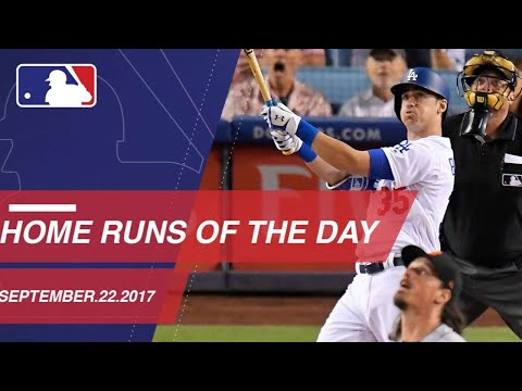 Check out all the homers around the Majors: 9/22/17