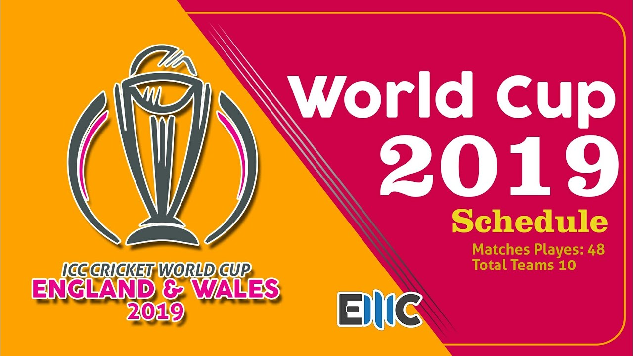 ICC World Cup 2019 - 10 Teams Slected For Next World Cup ( Start Date 30 May 2019 till 15 July 2019)
