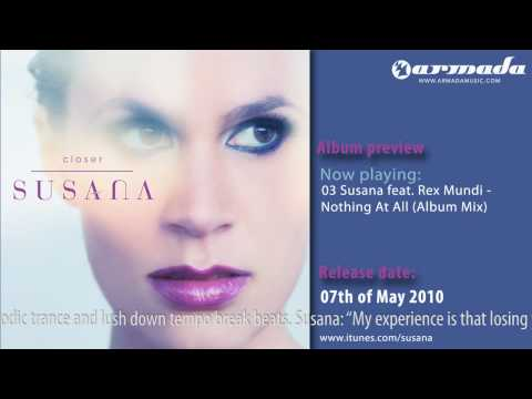 Exclusive Preview: 03 Susana feat. Rex Mundi - Nothing At All (Album Mix)