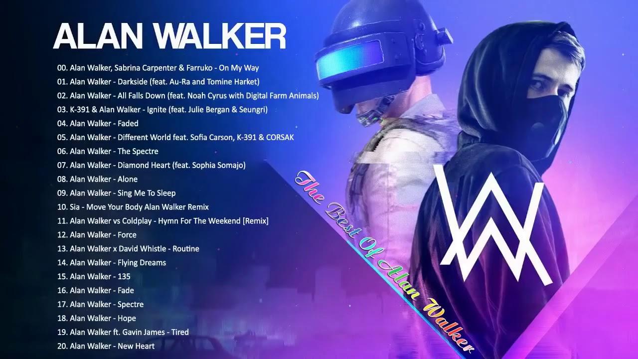 Top nhạc EDM Alan Walker 2020