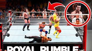 We broke into an official WWE event...