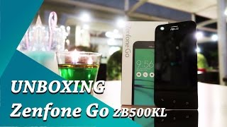 Unboxing Asus Zenfone GO ZB500KL Indonesia - Penantang J2 Prime?