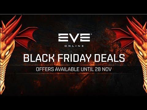 PLEX / Premium Sale - Black Friday Fight Fleet - EVE Online Live Presented in 4k