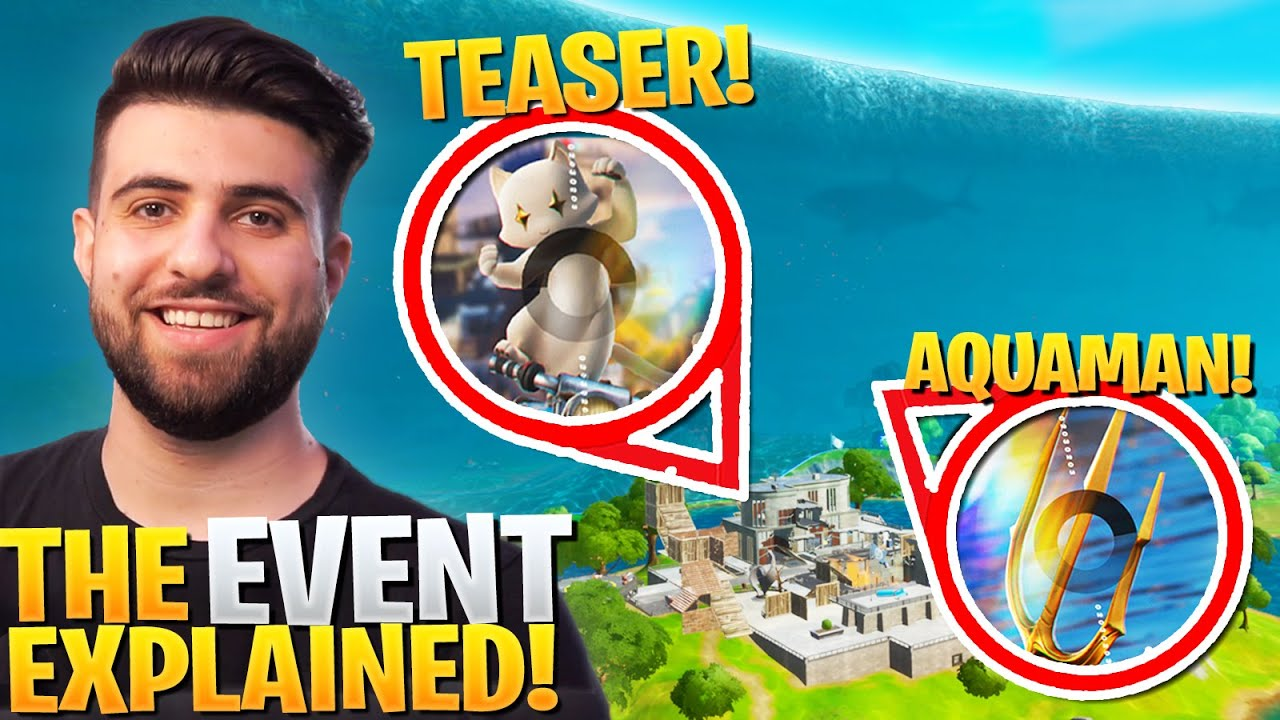 Everything We MISSED In The Fortnite Event! (EXPLAINED!) - Season 3 Teasers