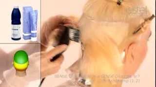 Окрашивание волос косметика ESTEL пошаговая инструкция часть 1