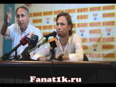 Валерий Карпин после матча с Истрой 2011 / Fanat1k.ru
