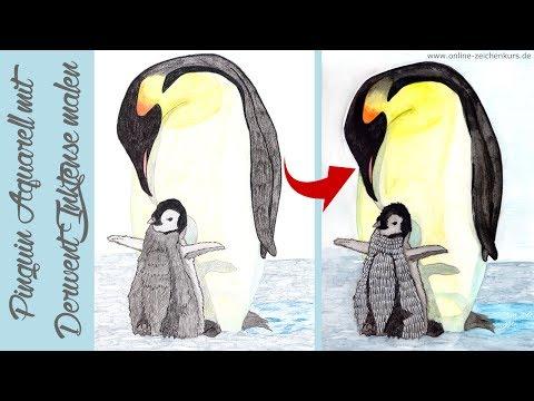 Tier Abc P Wie Pinguin Pinguin Zeichnen Und Malen Lernen