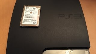 Playstation 3 500GB Hard Drive Upgrade