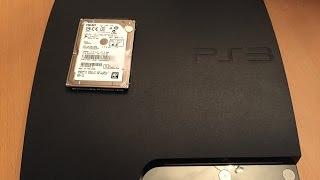 Playstation 3 500GB Hard Drive Upgrade