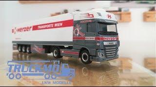 DAF XF Super Space Cab Euro 6 Herzer 937221 Herpa - TRUCKMO Exklusiv Serie