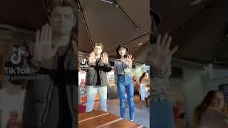 Yeşimresmi ve Samet Topçu Tiktok videosu