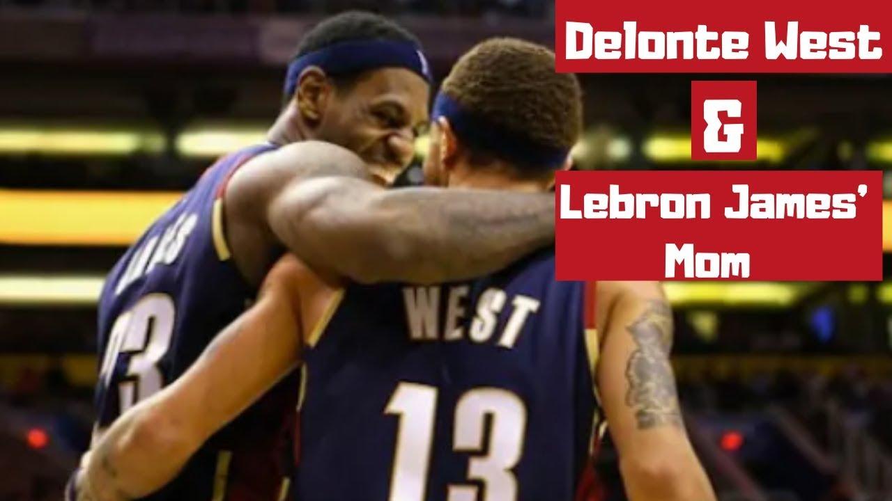 Lebron James Delonte West  Delonte West