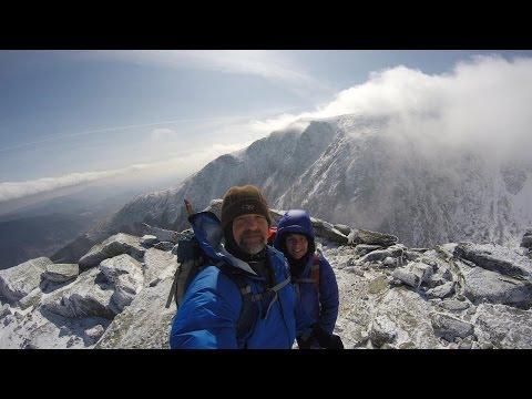 MOUNT WASHINGTON WINTER HIKE 2016 - LION HEAD TRAIL