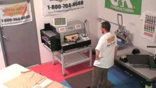 Brother GT-541 Little Sister System  vs  Factory Platen