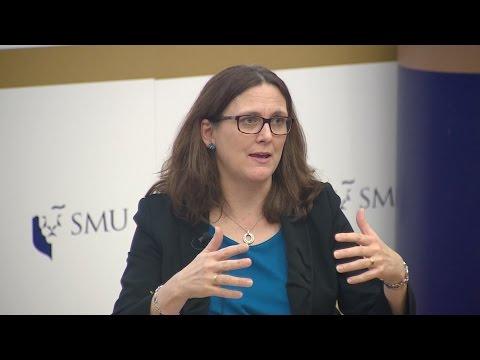 SMU PDLS: Cecilia Malmstrom   Lecture on 8 Mar 2017