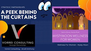 A Peek Behind The Curtains - Wellness for Women with MystyMoon