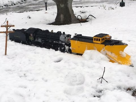 G Scale – Strasburg #90 – Plow Train
