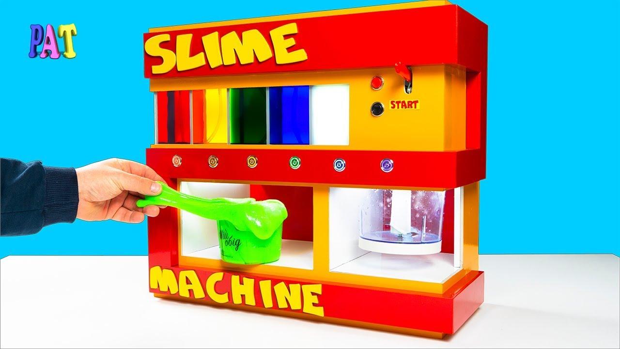 DIY SLIME <b>MACHINE</b>! АВТОМАТИЧЕСКАЯ РАЗДАЧА ...