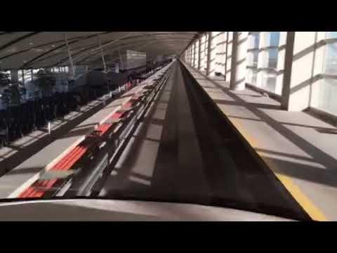 デトロイト空港のエクスプレスト...