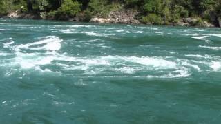 Niagara River Whirlpool Rapids Summer 2013