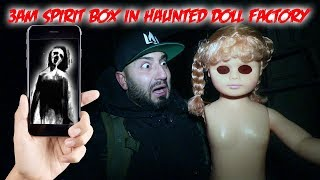 THE CURSED HAUNTED DOLL FACTORY CAUGHT SO MUCH PARANORMAL ACTIVITY ON CAMERA!