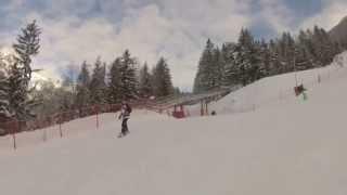 Snowboarding at Les Planards, Chamonix Thumbnail