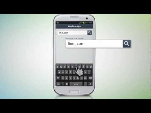Tutorial LINE: añadir amigos con ID de usuario