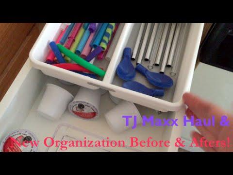 TJ Maxx & Fun Kitchen Drawer Reorganization!