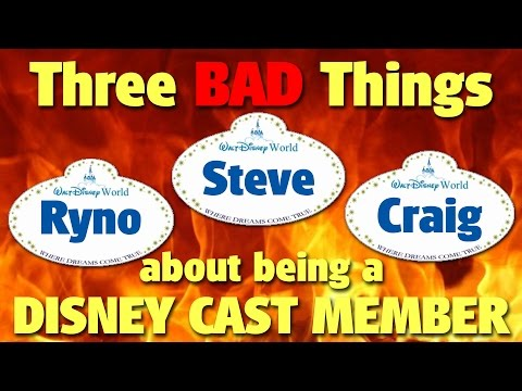 Three BAD Things about being a Disney Cast Member | DIS Unplugged Minisode
